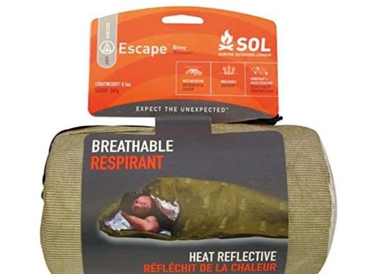 【SOL 】Escape Bivvy O.D/エスケープ 寝袋