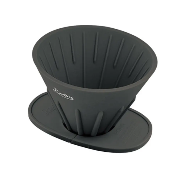 【Rivers】コーヒーポアオーバーセット(ケイブR/ポンドF) カラー:ブラック