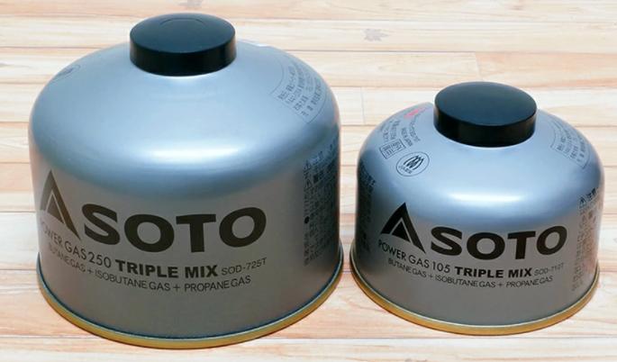 SOTO パワーガス トリプルミックス SOD-710T