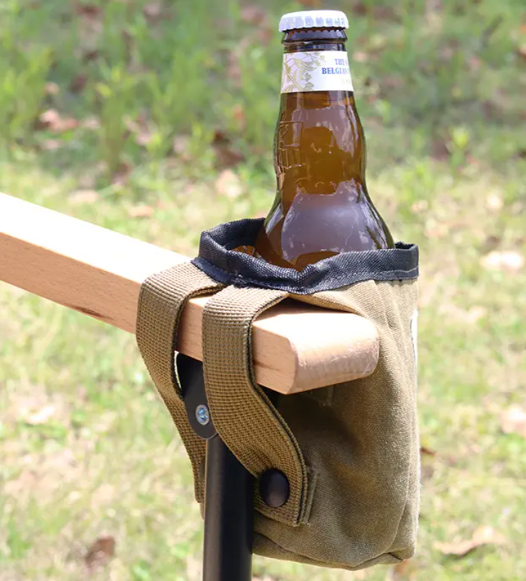 WAXED CANVAS BOTTLE BAG <ワックスドキャンバス ボトルバッグ>