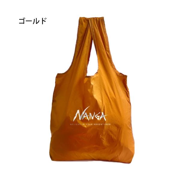 【NANGA】POCKETABLE ECOBAG 6色