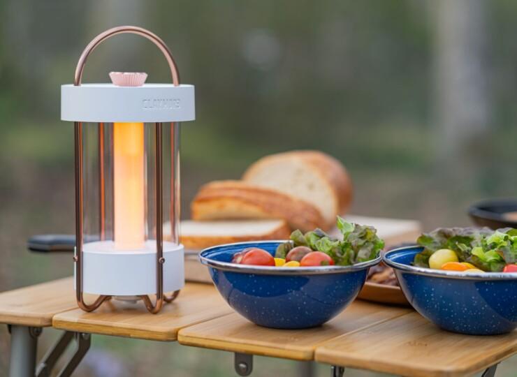 CLAYMORE LAMP  Selene  WH/ DG CLL-650
